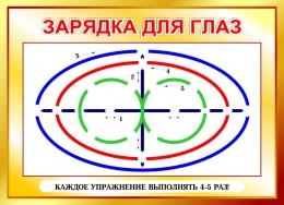Купить Стенд Зарядка для глаз в золотистых тонах 600*440мм в России от 945.00 ₽