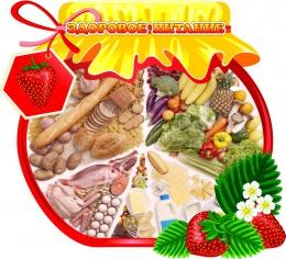 Купить Стенд Здоровое питание с баночкой варенья 550*500 мм в России от 1015.00 ₽