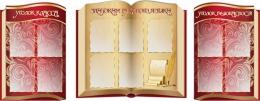 Купить Стендовая  композиция Знатокам русского языка в виде раскрытой книги в золотисто-бордовых тонах 2350*920мм в России от 8703.00 ₽
