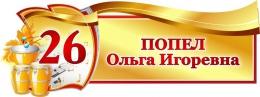 Купить Табличка фигурная для кабинета Музыки 340*130 мм в России от 238.00 ₽