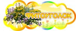 Купить Табличка Фитоуголок 350*150 мм в России от 257.00 ₽