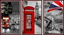 Купить Триптих Лондон для кабинета английского языка 1170*660мм в России от 2686.00 ₽