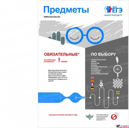 Плакат Информационный  Предметы 300*420 мм