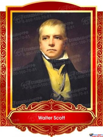 Комплект портретов  Знаменитые Британцы для кабинета английского языка золотисто-красные 260*350 мм Изображение #6