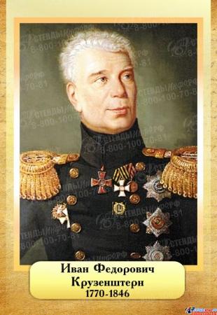 Комплект  портретов Знаменитые географы для кабинета географии №1 200*290 мм Изображение #7