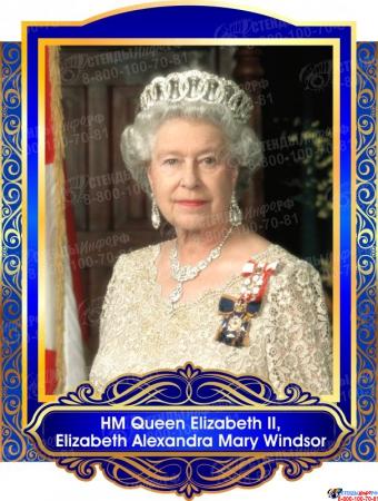 Комплект портретов  Знаменитые Британцы для кабинета английского языка 260*350 мм Изображение #2