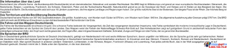 Стенд Deutschland в кабинет немецкого языка  на немецком в желто-зеленых тонах 1000*1250мм Изображение #1