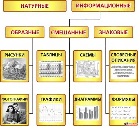 Композиция В мире информатики в кабинет информатики 2210*1150мм Изображение #6
