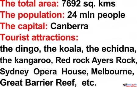 Стенд Достопримечательности англоговорящих стран в серо-красных тонах 750*760мм Изображение #2
