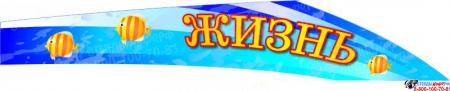 Стенд Жизнь Дельфина для группы Дельфин 2300*950 мм Изображение #4